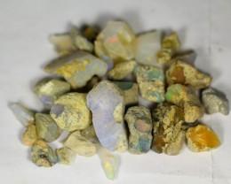 134.5Cts Ethiopian Welo Rough Opal Parcel Lot