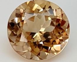 6.80Crt Natural Topaz  Best Grade Gemstones JI80
