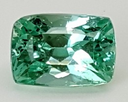 3.20Crt Green Spodumene  Best Grade Gemstones JI80