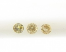 0.14ct  Colored Diamond Parcel , 100% Natural Untreated