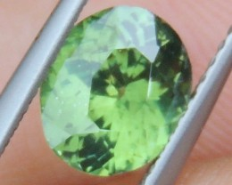 1.67cts,   Green Zircon,  Eye Clean,