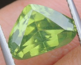 3.90cts,  Green Zircon, Eye Clean,