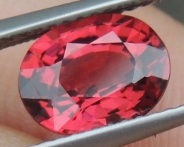 2.37cts  Malaya Garnet,  Open  Color, Untreated
