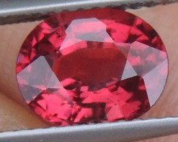 2.41cts  Malaya Garnet,  Open  Color, Untreated