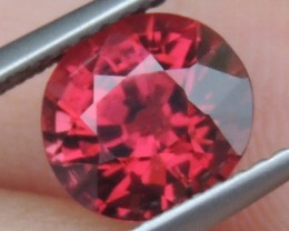 2.46cts  Malaya Garnet,  Open  Color, Untreated