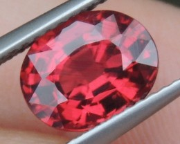 2.53cts  Malaya Garnet,  Open  Color, Untreated