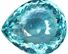 GIA Certified 20.93 CT Unheated Greenish Blue Paraiba Tourmaline $92,790