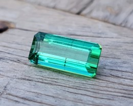 1.60 Ct Natural  Green Transparent Ring Size Tourmaline Gemstone