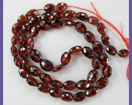 RAVISHING AAA+ 5X7-7X9MM MOZAMBIIQUE GARNET FACETED OVALS!!