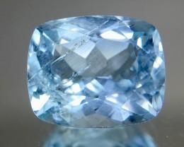 2.25 Crt Aquamarine Faceted Gemstone (R 207)