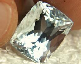 9.9 Carat Himalayan Silver Blue VS Aquamarine - Gorgeous