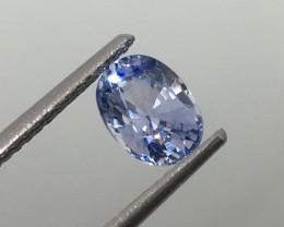 1.08 Carat VVS Blue Sapphire Ceylon Certified - Exquisite Quality !