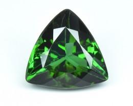 1.17 Cts Beautiful Natural Green Tourmaline Trillion Shape