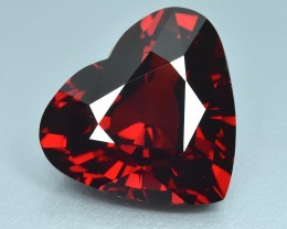 22.36 Cts Wonderful Orange Red Natural Spessartite Garnet