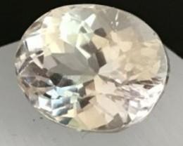 9.55ct Silvery Yellow Spodumene -Triphane   G42