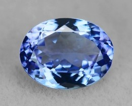 1.52 CT NATURAL TANZANITE HIGH QUALITY GEMSTONE TZ6