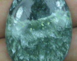 46.20 Ct Seraphinite Natural Untreated Cabochon x45-21