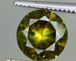 1.65 Crt Natural Chrome Sphene Faceted Gemstone
