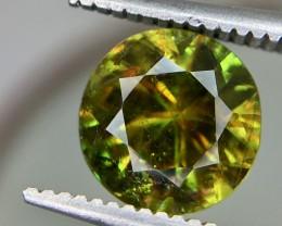 1.80 Crt Natural Chrome Sphene Faceted Gemstone