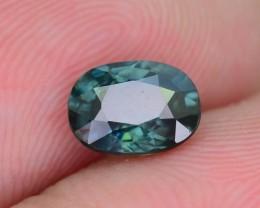 1.19 ct  Greenish Blue Sapphire SKU.10