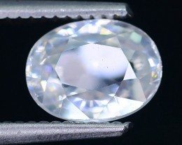 Diamond Like Brilliance 2.93 ct White Zircon Cambodia SKU.2