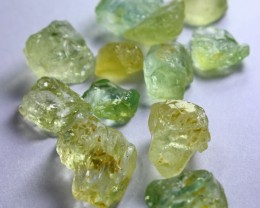 93.30  Ct Unheated ~ Natural Superb Green Beryl Aquamarine Rough