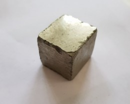 Perfect 448 carat natural Pyrite cube