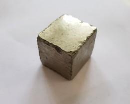 Perfect 448 carat natural Pyrite cube