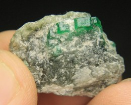 Natural Swat Emerald Specimen From Swat Pakistan