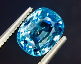 3.36 Crt Natural Zircon Cambodia Top luster Faceted Gemstone (Zc 04)