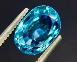 3.22 Crt Natural Zircon Cambodia Top luster Faceted Gemstone (Zc 06)