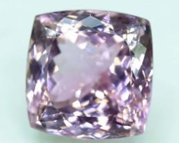 No Reserve - 60 Carats Top Quality Deep Pink Color Cushion Natural Kunzite