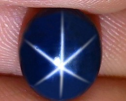 4.56 Carat Blue Diffusion Star Sapphire