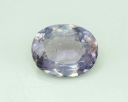 No Reserve - 7.70 Carats Oval Cut Purplish Pink Color Apatite Gemstone