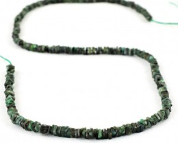 Genuine 80.00 Cts Untreated Emerald Beads Strand