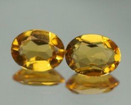 8X6 MM AAA QUALITY YELLOW BERYL BRAZIL GEMSTONE - YB131