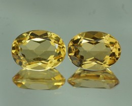2.24 ct AAA QUALITY YELLOW BERYL BRAZIL GEMSTONE - YB137