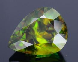 AAA Green Color 3.53 ct Chrome Sphene Skardu Pakistan SKU.17