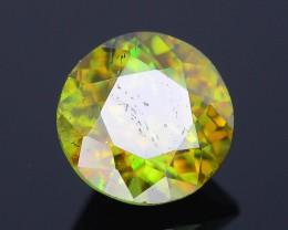AAA Green Color 1.03 ct Chrome Sphene Skardu Pakistan SKU.18