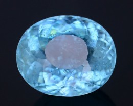 8.73 ct Attractive Color Brazillian Aquamarine SKU.4