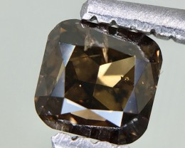 0.41 Crt Diamond Certified Untreated Faceted Gemstone