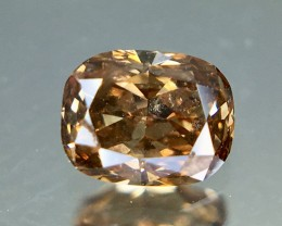 0.24 Crt Diamond Certified Untreated Faceted Gemstone