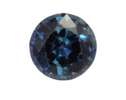0.52cts Natural Australian Blue Sapphire Round Shape