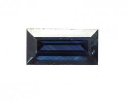 0.52cts Natural Australian Blue Sapphire Baguette Shape