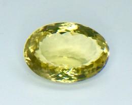 15.95 Crt Natural Lemon Quards Top luster Faceted Gemstone (MG 24)