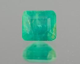 Green Emerald  1.71 ct Zambia GPC Lab