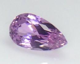 9.85 Crt Natural Kunzite Top luster Faceted Gemstone (Kz 01)