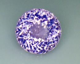 10.82 Crt Natural Kunzite Top luster Faceted Gemstone (Kz 04)