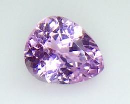 6.54 Crt Natural Kunzite Top luster Faceted Gemstone (Kz 06)