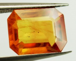 2.41 ct Natural Orange Sapphire - Sri Lanka PGTL Certified